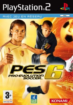Jaquette de Pro Evolution Soccer 6 PlayStation 2