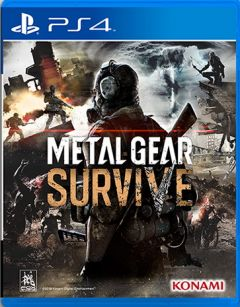Jaquette de Metal Gear Survive PS4