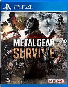 Jaquette de Metal Gear Survive PS4