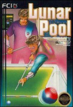 Jaquette de Lunar Pool NES