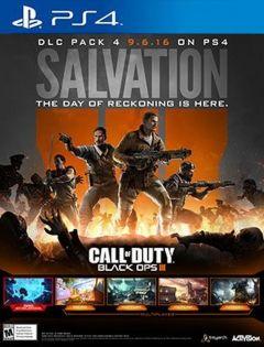 Jaquette de Call of Duty Black Ops III : Salvation PS4