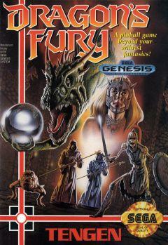 Jaquette de Devil's Crush Mega Drive