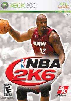 Jaquette de NBA 2K6 Xbox 360