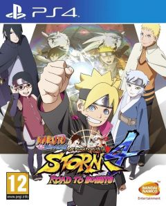 Jaquette de Naruto Shippuden Ultimate Ninja Storm 4 - Road to Boruto PS4