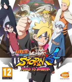 Jaquette de Naruto Shippuden Ultimate Ninja Storm 4 - Road to Boruto PC