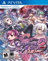 Jaquette de Criminal Girls 2 : Party Favors PS Vita