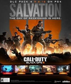 Jaquette de Call of Duty Black Ops III : Salvation Xbox One