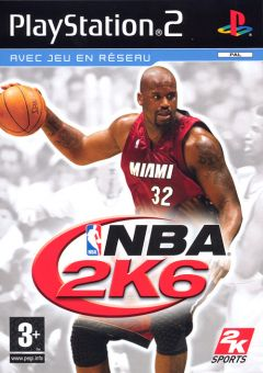 Jaquette de NBA 2K6 PlayStation 2