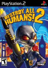 Jaquette de Destroy All Humans 2 PlayStation 2