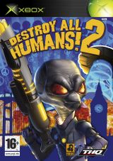 Jaquette de Destroy All Humans 2 Xbox