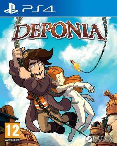 Jaquette de Deponia PS4