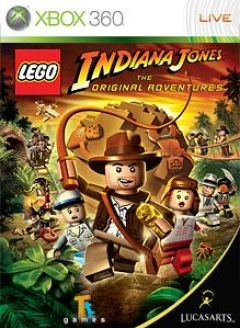 Jaquette de LEGO Indiana Jones Xbox 360