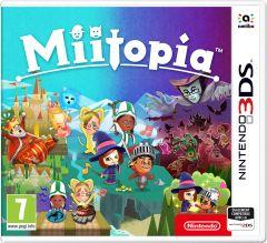 Jaquette de Miitopia Nintendo 3DS