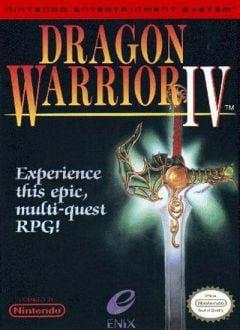 Jaquette de Dragon Quest IV NES