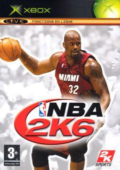 Jaquette de NBA 2K6 Xbox