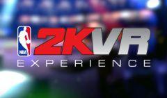 Jaquette de NBA 2KVR Experience Oculus Rift