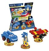 Jaquette de LEGO Dimensions : Sonic The Hedgehog Level Pack Wii U