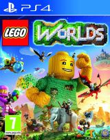 Jaquette de LEGO Worlds PS4