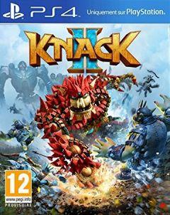 Jaquette de Knack II PS4