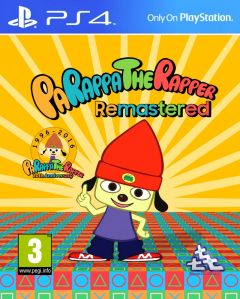 Jaquette de PaRappa The Rapper Remastered PS4