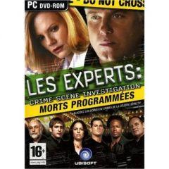 Jaquette de Les Experts : Morts Programmées PC