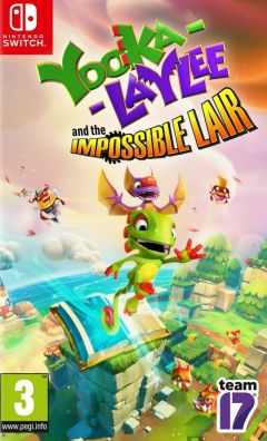 Jaquette de Yooka-Laylee Nintendo Switch