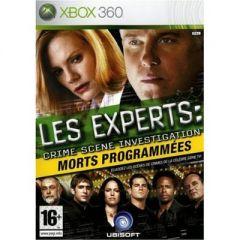 Jaquette de Les Experts : Morts Programmées Xbox 360