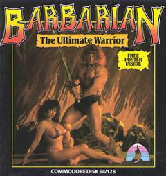 Jaquette de Barbarian : The Ultimate Warrior Amiga