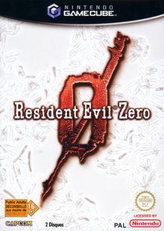 Jaquette de Resident Evil Zero GameCube