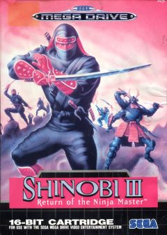Jaquette de Shinobi III : Return of the Ninja Master Mega Drive