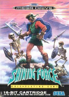 Jaquette de Shining Force Mega Drive