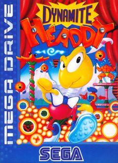 Jaquette de Dynamite Headdy Mega Drive