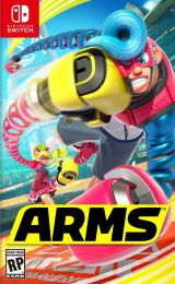 Jaquette de ARMS Nintendo Switch