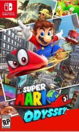 Jaquette de Super Mario Odyssey Nintendo Switch