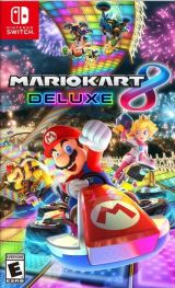 Jaquette de Mario Kart 8 Deluxe Nintendo Switch