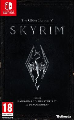 Jaquette de The Elder Scrolls V : Skyrim Nintendo Switch