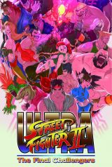 Jaquette de Ultra Street Fighter II : The Final Challengers Nintendo Switch