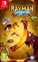 Jaquette de Rayman Legends Definitive Edition Nintendo Switch