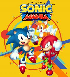 Jaquette de Sonic Mania Nintendo Switch
