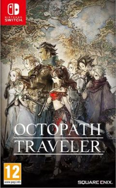 Jaquette de Octopath Traveler Nintendo Switch