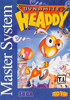 Jaquette de Dynamite Headdy Master System