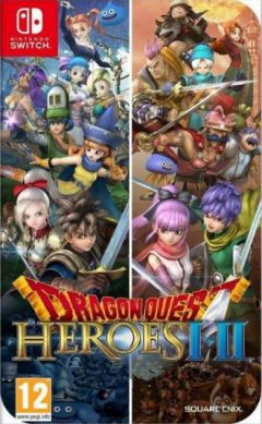 Jaquette de Dragon Quest Heroes I-II Nintendo Switch