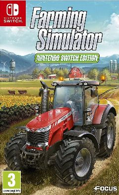 Jaquette de Farming Simulator Nintendo Switch Edition Nintendo Switch