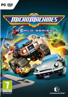 Jaquette de Micro Machines World Series PC