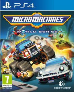 Jaquette de Micro Machines World Series PS4