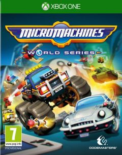 Jaquette de Micro Machines World Series Xbox One