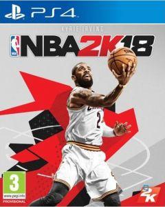 Jaquette de NBA 2K18 PS4