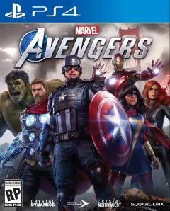 Jaquette de Marvel's Avengers PS4