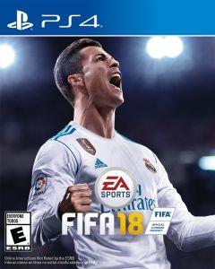 Jaquette de FIFA 18 PS4