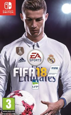 Jaquette de FIFA 18 Nintendo Switch